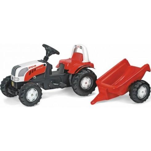 Traktorius Rolly Toys su priekaba 12510