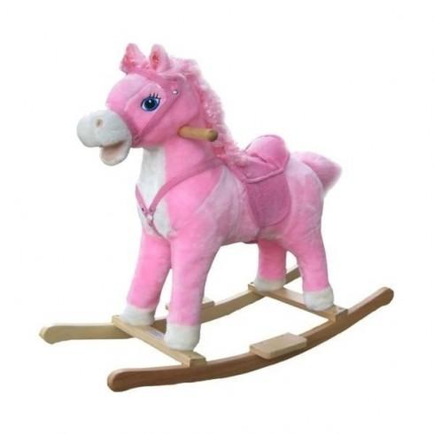 Muzikinis arkliukas MILLY MALLY Princess Pink