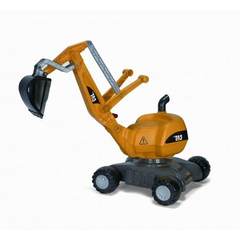 Paspiriamas ekskavatorius Rolly Toys 421015