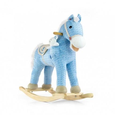 Muzikinis arkliukas MILLY MALLY Pony Blue