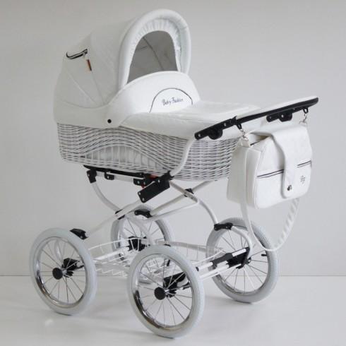 Universalus vežimėlis Baby Fashion Scarlett BW