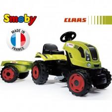 Трактор На Педалях Smoby Farmer Xl С Прицепом 710114
