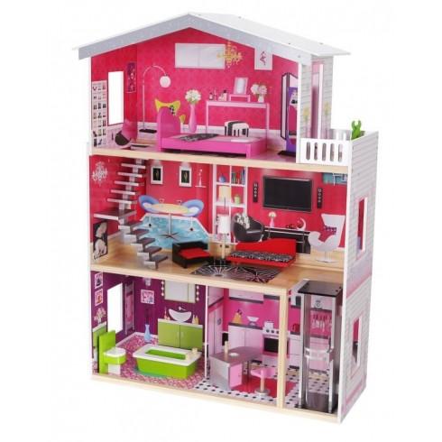 Medinis lėlių namas Eko Žaislas Malibu