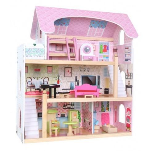 Medinis lėlių namas Eko Žaislas Rezidencija