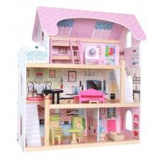 Деревянный Кукольный Дом Eko Toys Резиденция