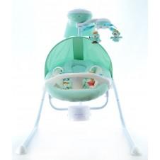 Электронные Качели Euro Baby Животные Green