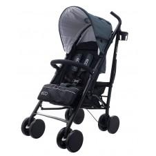 Skėtuko formos vežimėlis Euro Vaikas Eco Pilkas
