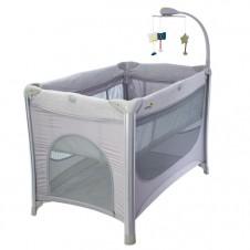 Манеж-Кровать Euro Baby Отдых Серый