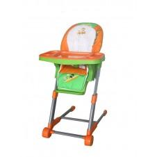 Maitinimo kėdutė Euro Vaikas Vaivo Oranžinė