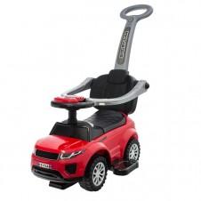 Paspiriamoji mašinėlė Euro Vaikas sport car raudona