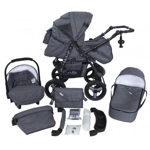 Universalus vežimėlis PTP BG Lirdo 3in1