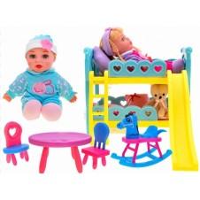 Двухъярусная Кровать Для Куклы Jokomi Za1764
