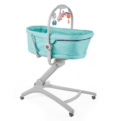Lopšiukas - maitinimo kėdutė Chicco Baby Hug 4in1 Aquarelle