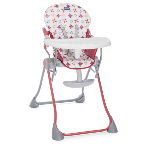 Maitinimo kėdutė Chicco Pocket Meal Red