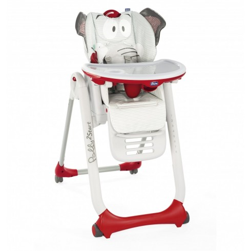 Maitinimo kėdutė Chicco Polly 2 Start Baby Elephant