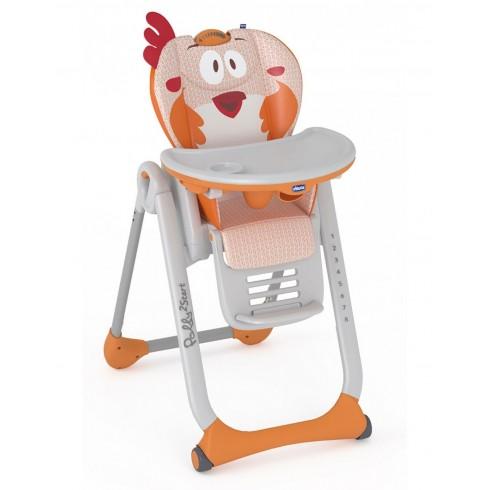 Maitinimo kėdutė Chicco Polly 2 Start Fancy Chicken