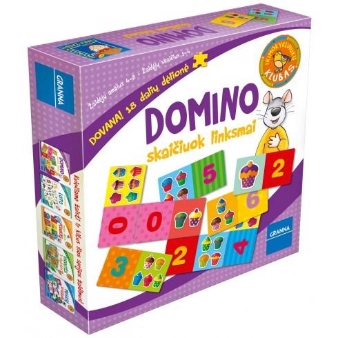 Stalo žaidimas Granna Domino - skaičiuok linksmai