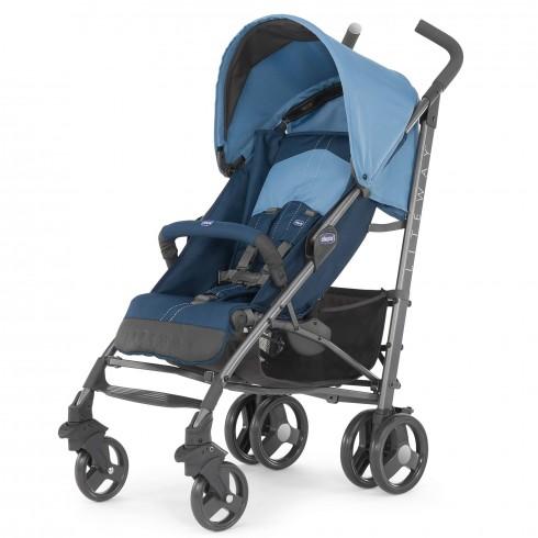 Skėtuko formos vežimėlis Chicco Lite Way Blue