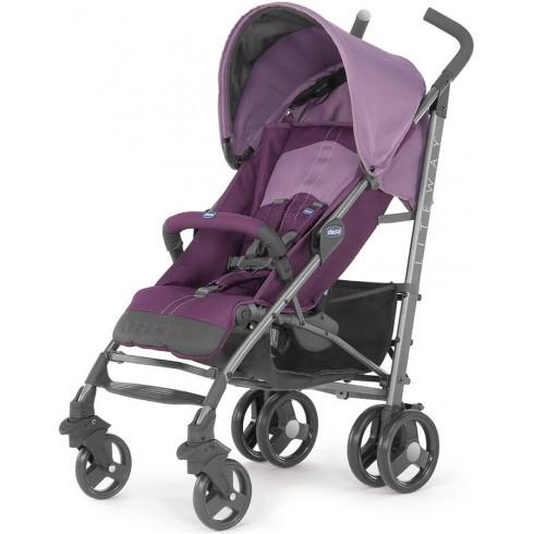 Skėtuko formos vežimėlis Chicco Lite Way Purple