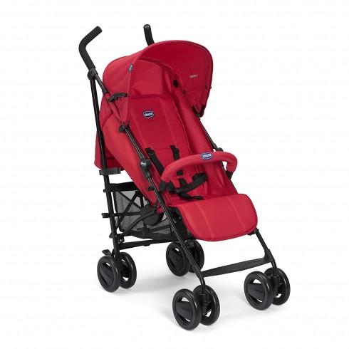 Skėtuko formos vežimėlis Chicco London Red Passion