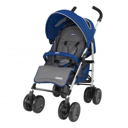 Skėtuko formos vežimėlis Chicco Multiway Evo Blue