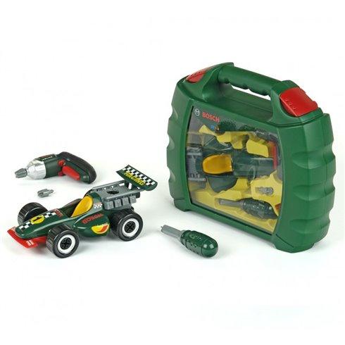 Meistro įrankių rinkinys KLEIN Bosch su automobiliu 8375