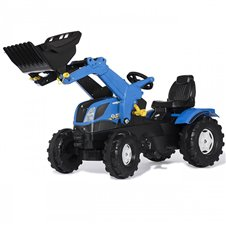 Minamas traktorius Rolly Toys Farmtrac New Holland 611256