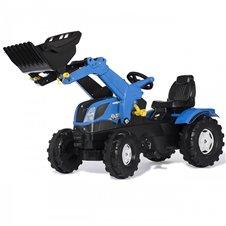 Трактор На Педалях Rolly Toys Farmtrac New Holland 611256