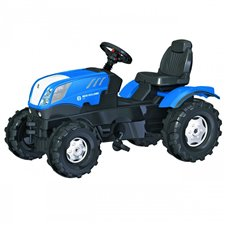 Minamas traktorius Rolly Toys Farmtrack New Holland 601295