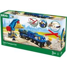 Rinkinys BRIO Policijos transportas 33812