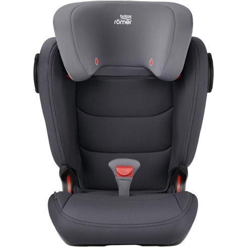 Automobilinė kėdutė BRITAX KIDFIX III M Storm grey 2000030986 (15-36kg)