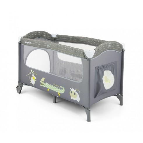 Maniežinė lovytė M&M Mirage Gray