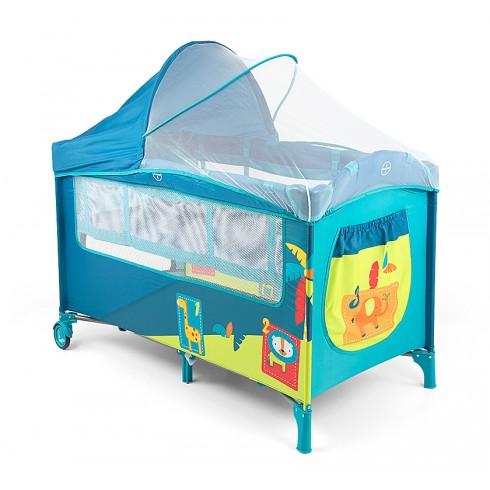 Maniežinė lovytė M&M Mirage Deluxe Jungle