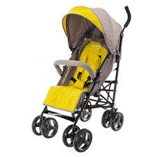 Skėtuko formos vežimėlis Euro Vaikas Smart Pro Kreminė-geltona