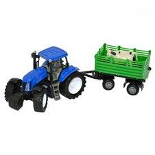 Rinkinys Euro Vaikas Traktorius su priekaba 0529828