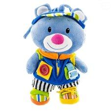 Pliušinis žaislas Euro Vaikas Mėlynas meškiukas