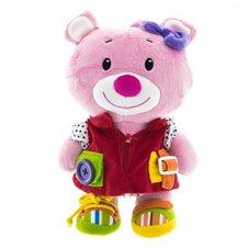 Pliušinis žaislas Euro Vaikas Rožinis meškiukas