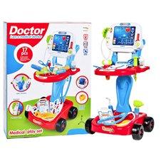 Zestaw lekarza WÓZEK LEKARSKI dla dziecka ZA2155