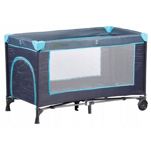 Maniežinė lovytė Eko Žaislas Navy blue
