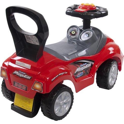 Paspiriamoji mašinėlė Saulės Vaikas Mega Raudona