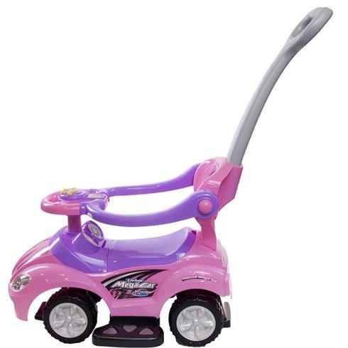 Paspiriamoji mašinėlė Saulės Vaikas MegaCar Rožinė