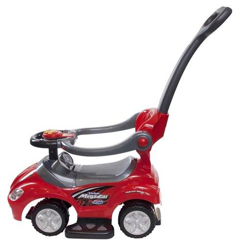 Paspiriamoji mašinėlė Saulės Vaikas MegaCar Raudona