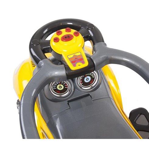 Paspiriamoji mašinėlė Saulės Vaikas Mega Geltona