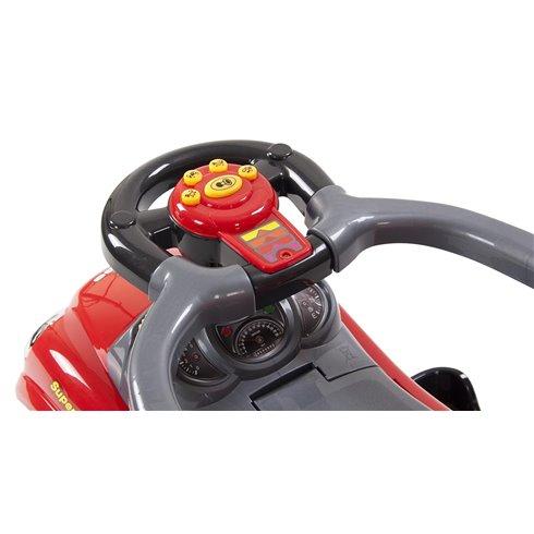 Paspiriamoji mašinėlė Saulės Vaikas Quick Coupe Raudona