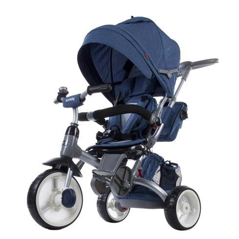Rowerek trójkołowy Little Tiger - melanż niebieski