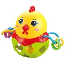 Lavinamasis žaislas Saulės Vaikas Geltonas viščiukas