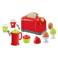 Pusryčių rinkinys ECOIFFIER su skrudintuve