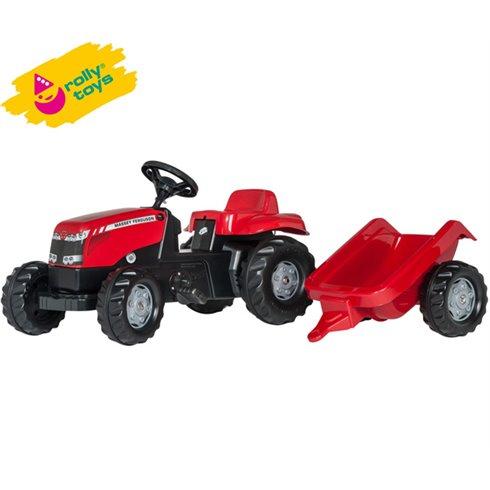 Rolly Toys Kid Masey Ferguson z przyczepą