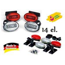 Šviesos signalų rinkinys Rolly Toys