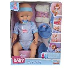 Lėlė SIMBA New Born Baby Berniukas